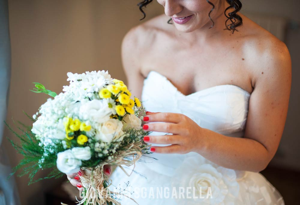 Bouquet sposa a Paestum
