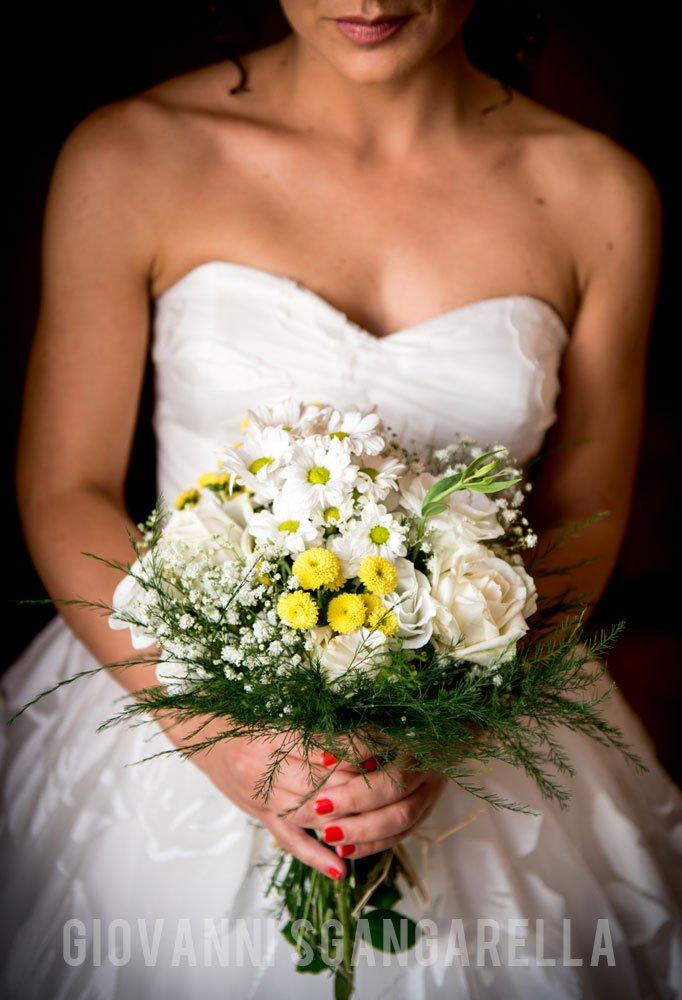 Bouquet sposa reportage di matrimonio