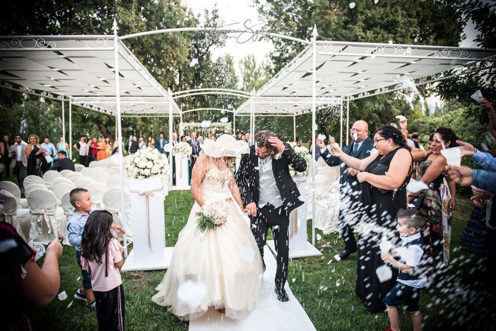 Confetti sposi Araba Fenice