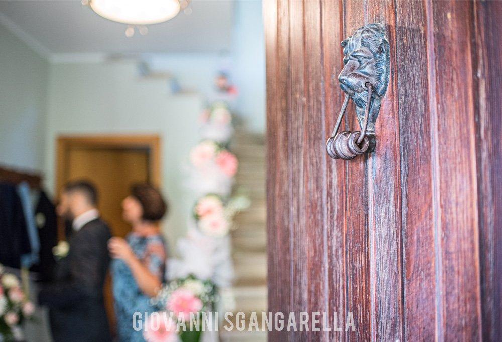 Dettaglio casa sposo - Matrimonio a Paestum