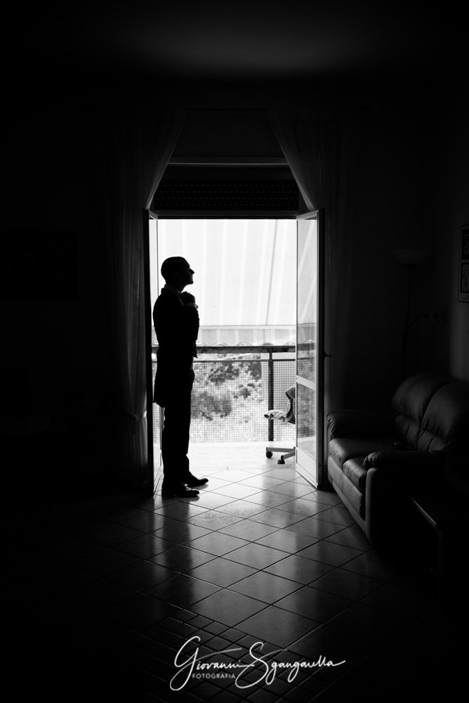 Fotografia sposo ad Eboli