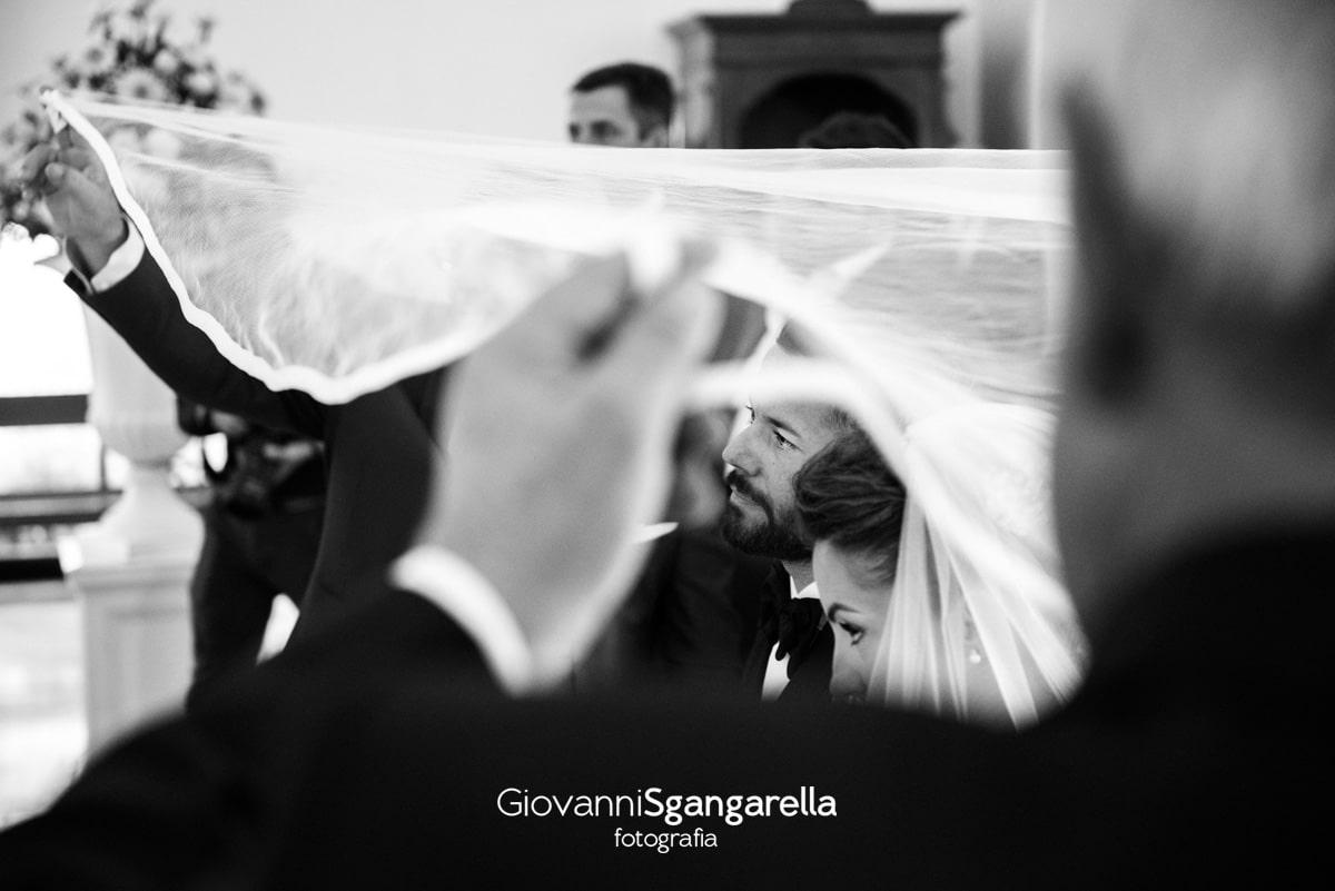 Fotografo matirmonio Paestum - Rito della velazione
