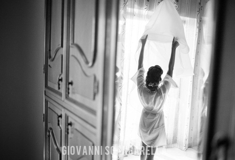 Riflesso sposa - Matrimonio a Paestum
