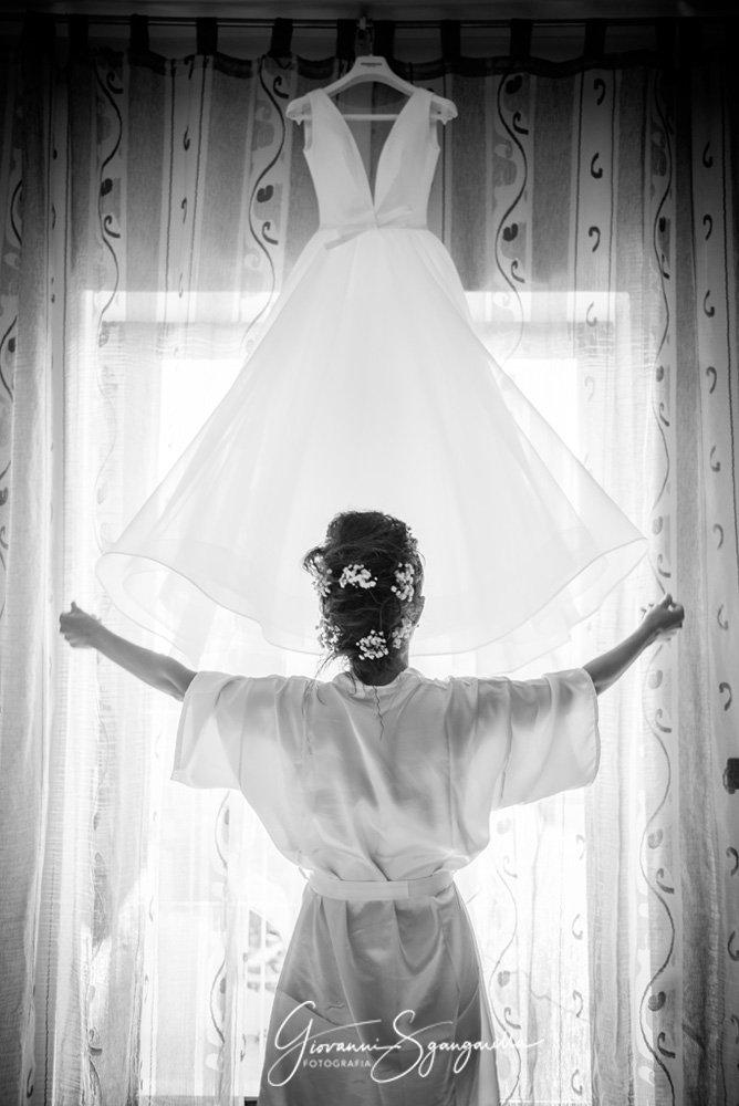 Sposa matrimonio a Paestum, Salerno