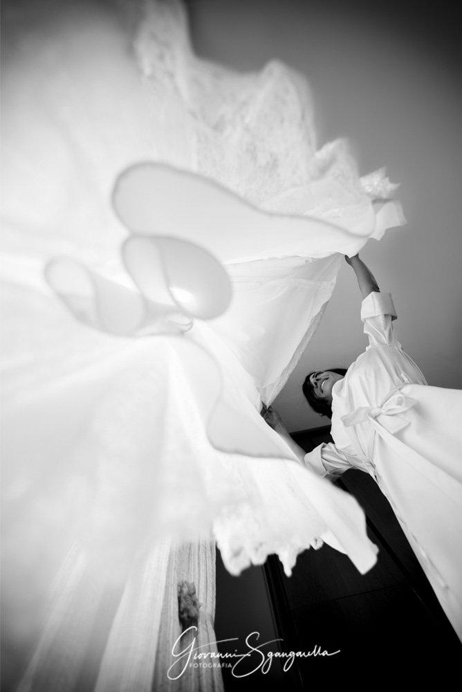 Sposa reportage Paestum - Fotografo di matrimonio