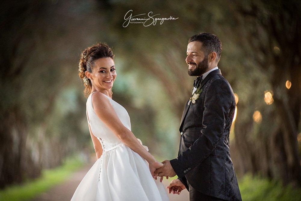 Sposi a Paestum - Fotografo di matrimonio
