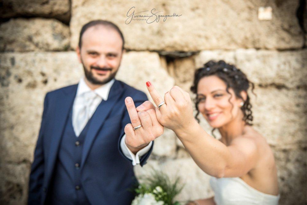 Sposi Porta Rosa a Paestum