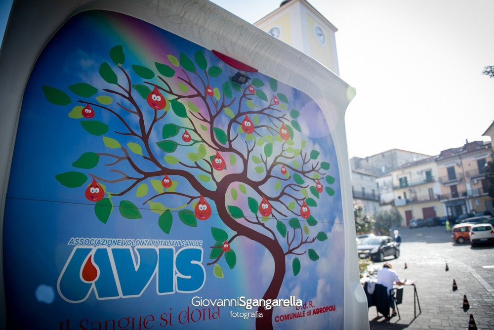 Avis Agropoli - Donazione del sangue ad Albanella