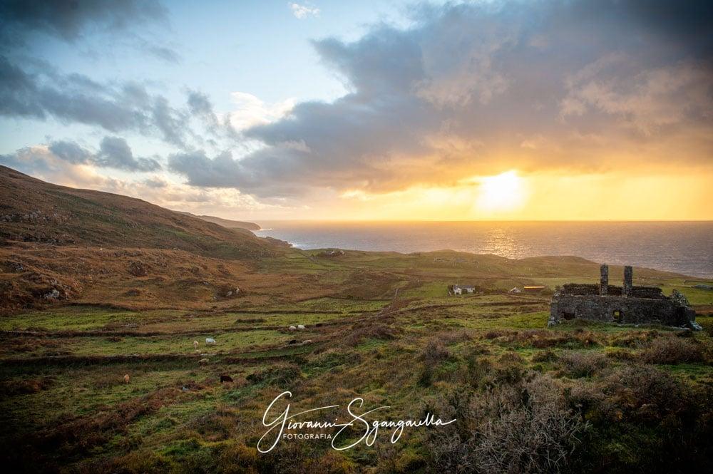 Scorcio foto dall'Irlanda