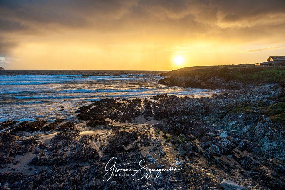 Tramonto foto in Irlanda