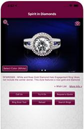 App matrimonio The vow ring finder