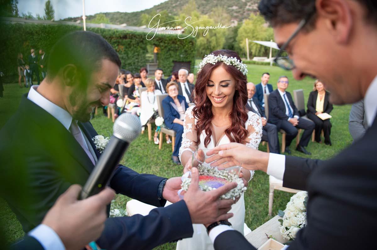 Sposi alla Cerimonia del Sale a Paestum