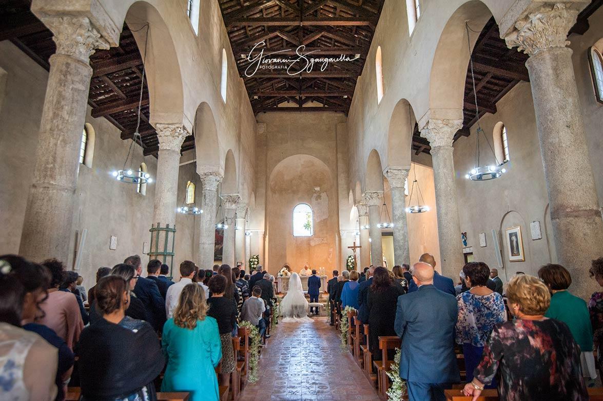 Servizio fotografico di matrimonio alla Basilica Paleocristiana di Paestum